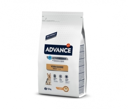 Advance Dog Yorkshire Terrier 1.5кг - пилешко и ориз