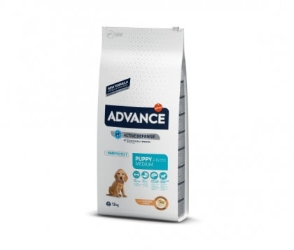Advance Dog Medium Puppy 12кг - пилешко и ориз