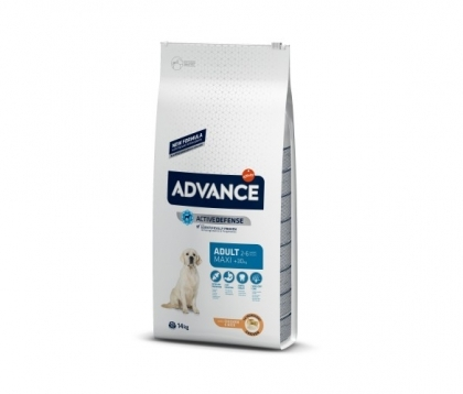 Advance Dog Maxi Adult 14кг - пилешко и ориз