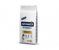 Advance Dog Med/Max Adult Sensitive 12кг - сьомга и ориз