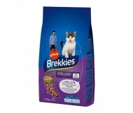 Brekkies Cat Sterilized 1.5кг